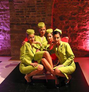 Girls in Budapest