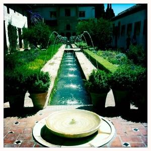 Kertészet vízellátással