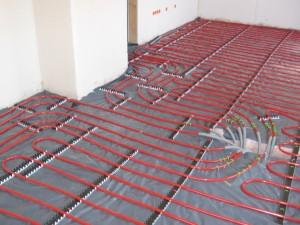 A padlófűtés is az épületgépész feladatai közé tartozik